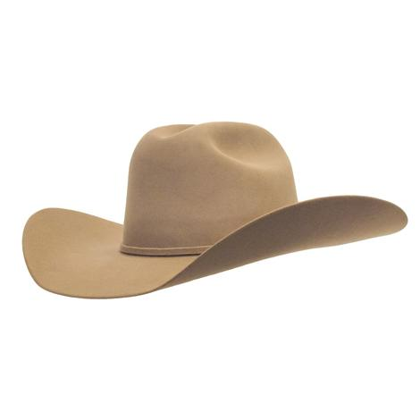 Rodeo King Low Rodeo 5x Pecan Felt Cowboy Hat