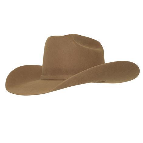 American Hat Company 10X Pecan Felt Long Oval Cowboy Hat