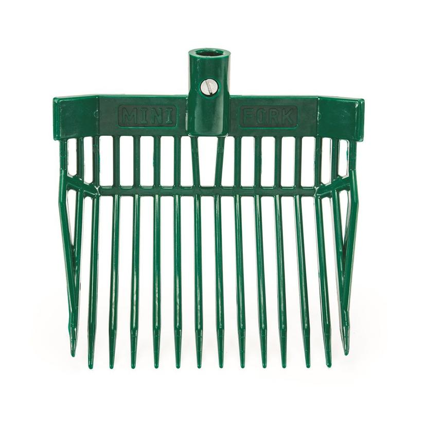 K&D Equestrian Mini Stall Fork HUNTER_GREEN