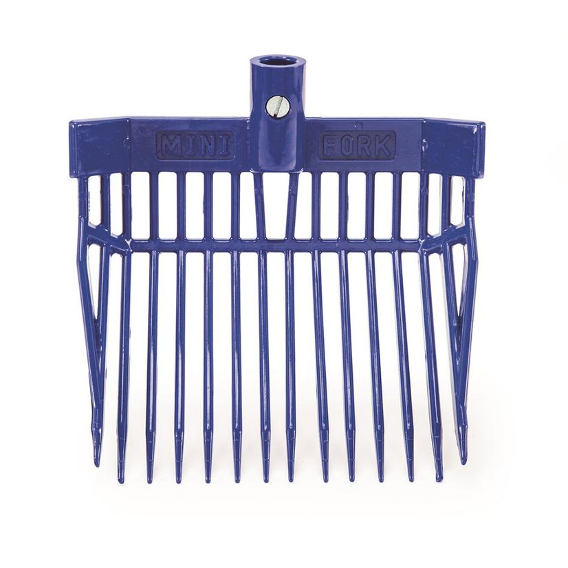K&D Equestrian Mini Stall Fork ROYAL_BLUE