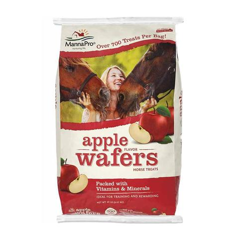 Manna Pro Apple Wafers Horse Treats