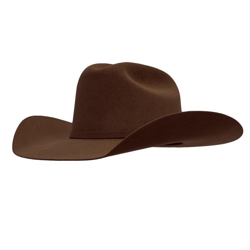 Resistol 6x 72 Ustrc 4.25 Brim Chocolate Felt Hat
