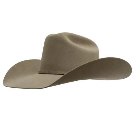 Resistol 40X Arena 4.25in Brim Natural Felt Hat - Precreased