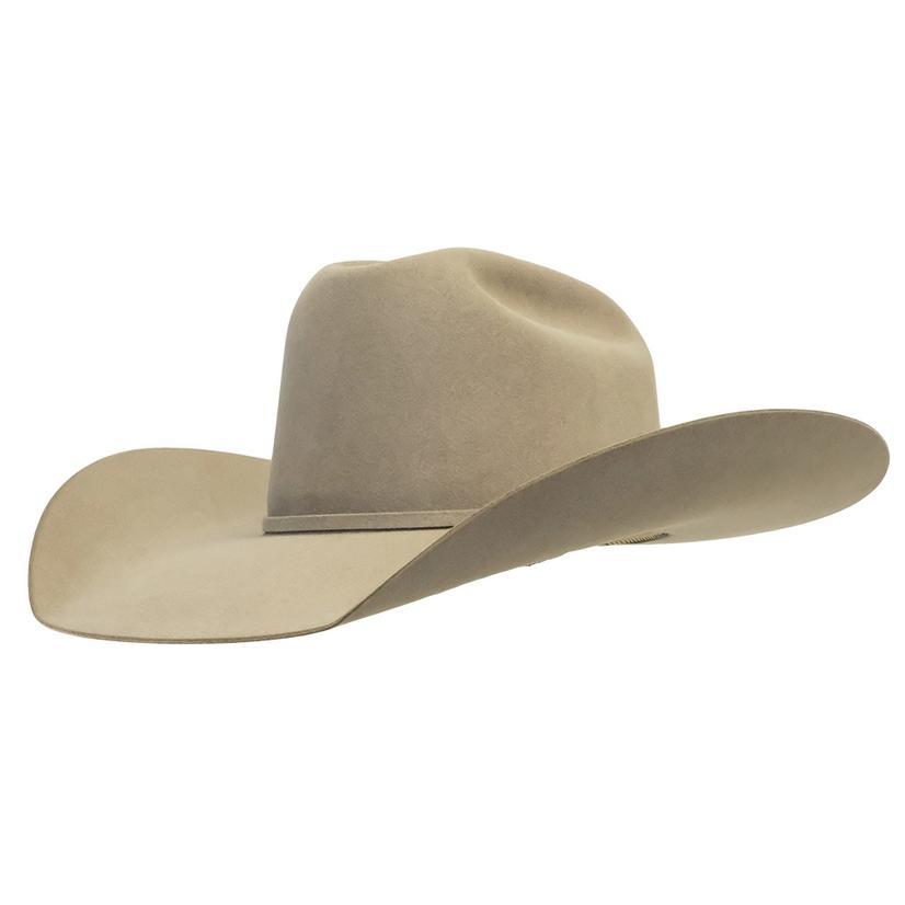 Stt Pure Beaver Natural Felt Hat 4.25in Brim