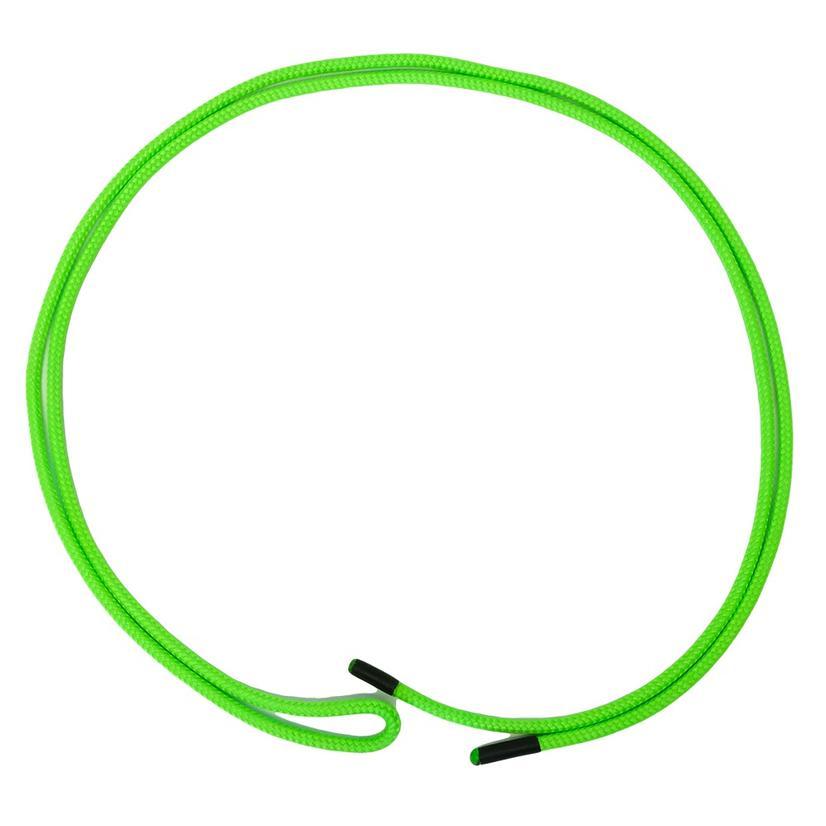Nylon Braided Tie String 7ft - Neon Green Or Whiteorange Speckle