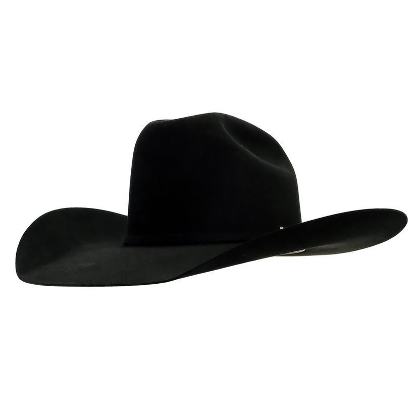 Stt Pure Beaver Black Felt Hat 4.5in Brim