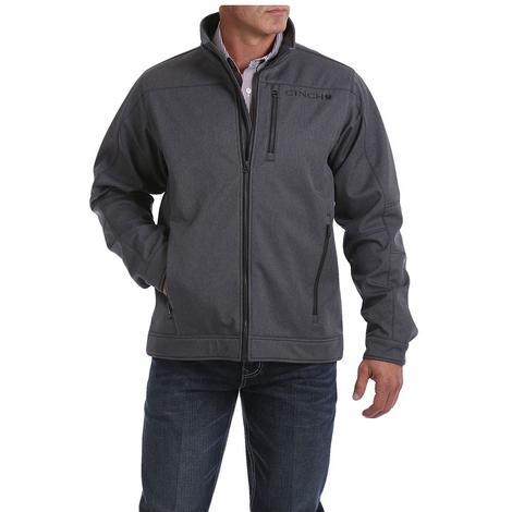 Cinch Grey Bonded Men's Jacket with Waffle Fleece Lining