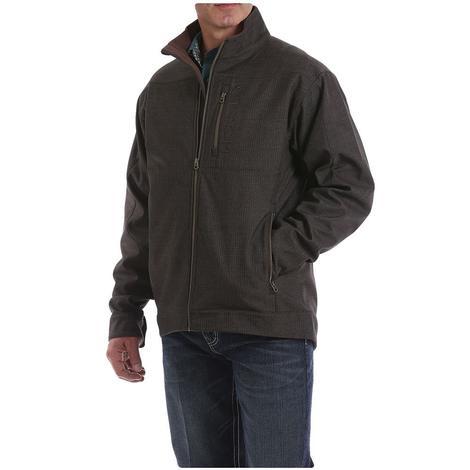 Cinch Brown Textured Bonded Men's Conceal Carry Jacket