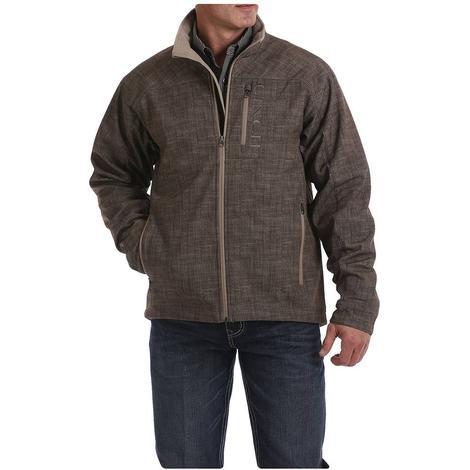Cinch Brown Printed Bonded Men's Jacket