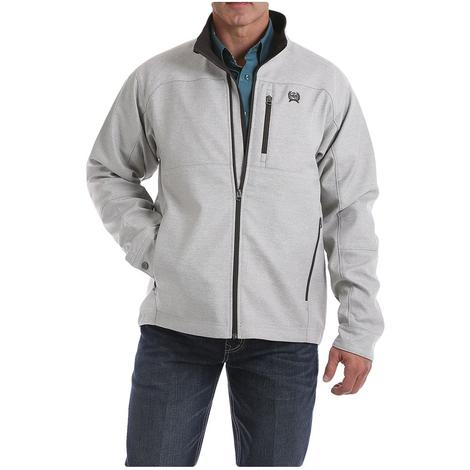 Cinch Silver Textured Bonded Conceal Carry Men's Jacket