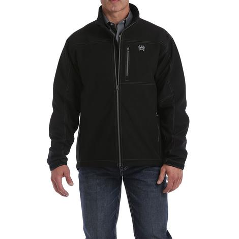 Cinch Black Bonded Men's Zipup Jacket