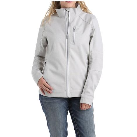 Cinch Heather Grey Cream Bonded Women's Jacket