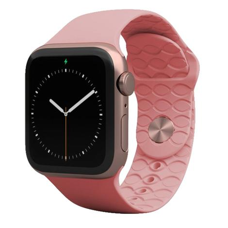 Groove Life Solid Rose Pink Apple Watch Band