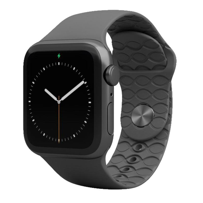 Groove Life Deep Stone Grey Apple Watch Band