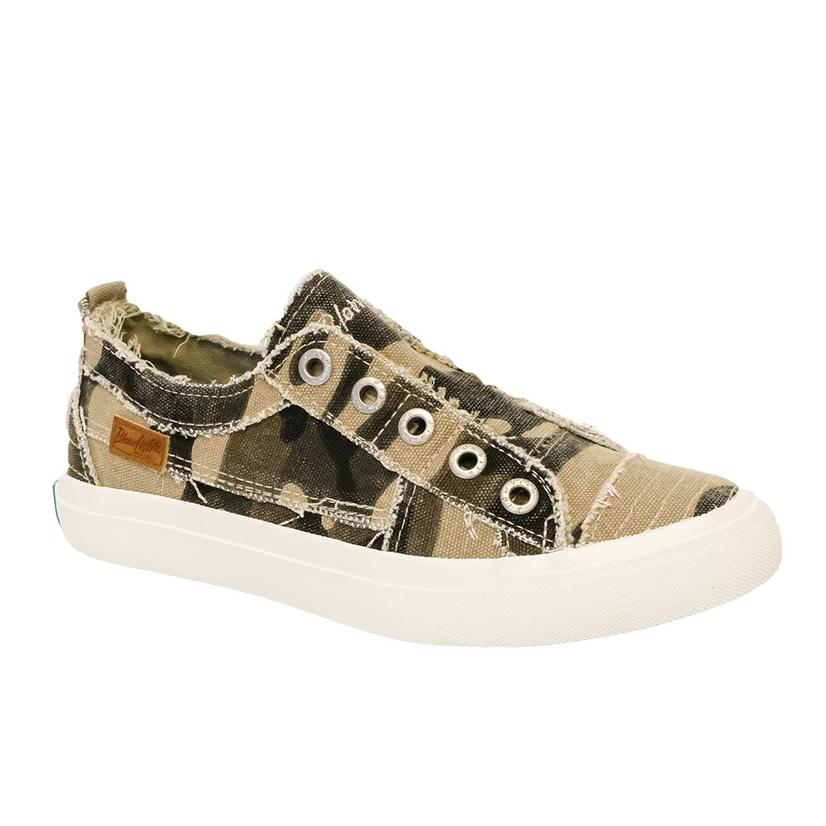 Blowfish Natural Camo Women's Slip On Shoe