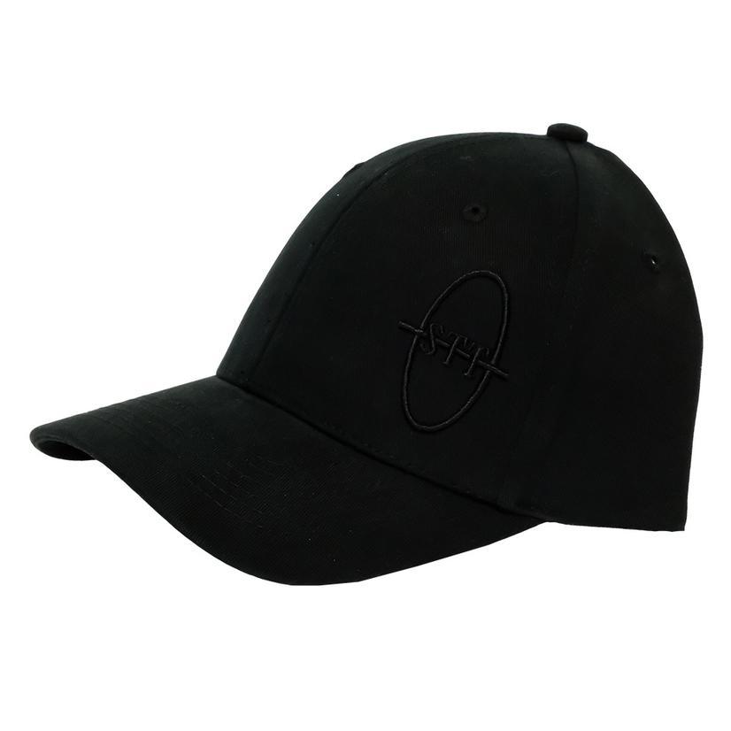 Stt Bar Nothing Black On Black Cap