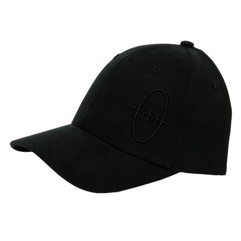 STT Bar Nothing Black on Black Meshback Cap