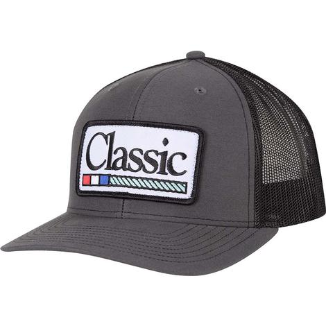 Classic Ropes Black Patch Meshback Cap