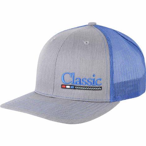 Classic Ropes Grey Blue Meshback Cap