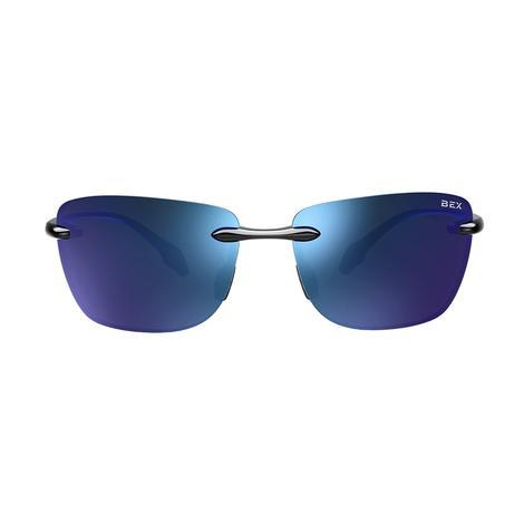 BEX Jaxyn X Glossy Grey Iris Sunglasses