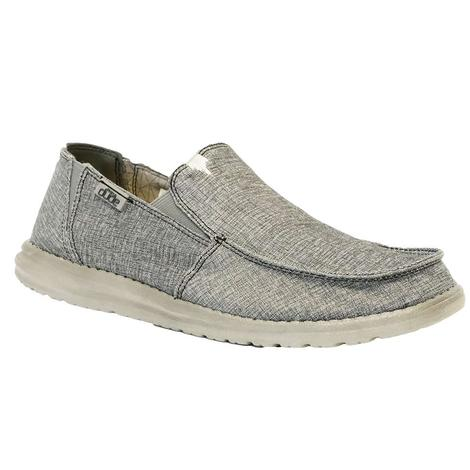 Hey Dude Chan Steel Stretch Men's Slip On Shoes