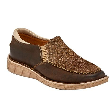 Tony Lama Catalina Mocha Casual Women's Shoes