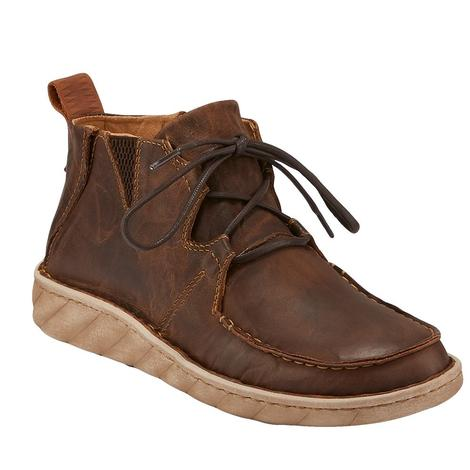 Tony Lama Estancia Tan Lace Up Men's Shoe