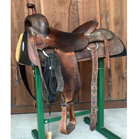 King Ranch 16in Ranch Cutter Used Saddle
