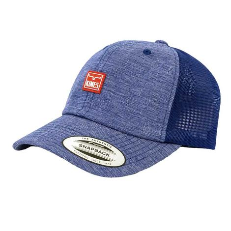 Kimes Ranch Scratch Branded Blue Meshback Cap