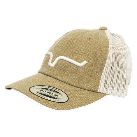 Kimes Ranch Crusher Mocha Meshback Cap