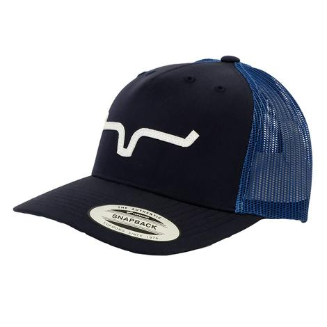 Kimes Ranch Wind Jammer Navy Meshback Cap