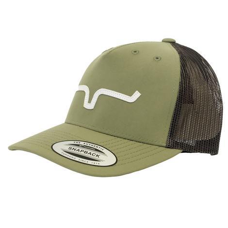 Kimes Ranch Wind Jammer Sage Meshback Cap