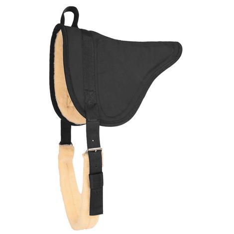 Mustang Microsuede Bareback Pad - Black