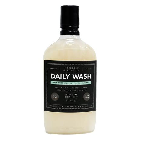 Manready Mercantile All in One Body Wash Cedar and Mint 16oz