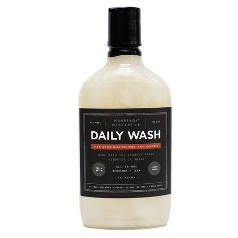 Manready Mercantile All in One Body Wash Bergamot and Teak 16oz