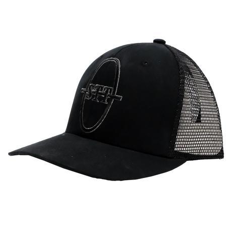 STT Brand Logo Ball Cap in Classic Black