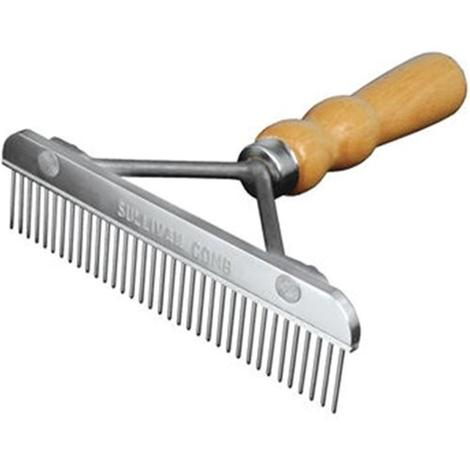 Sullivan 6inch Comb with Wood Handle