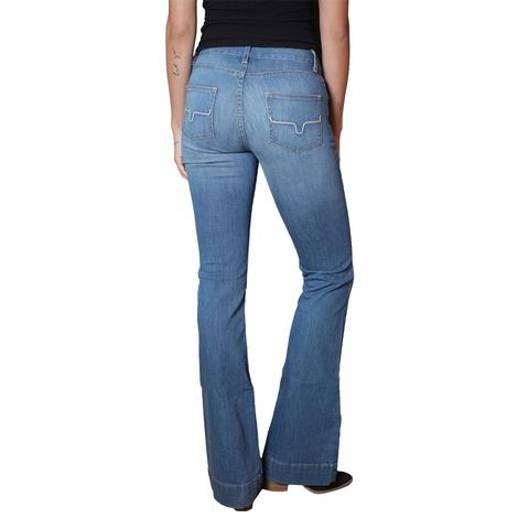 Kimes Ranch Lola Dark Wash Women's Trouser