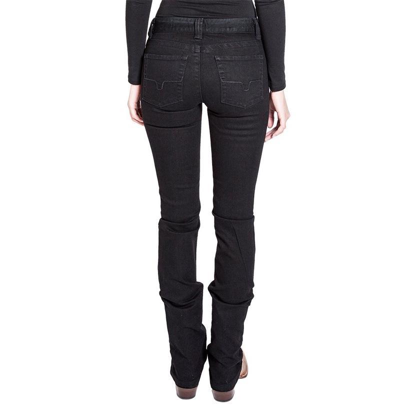 Kimes Ranch Black Betty Mid Rise Bootcut Women's Jeans
