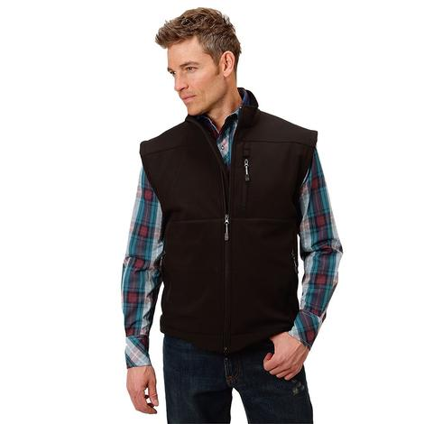 Roper Black Softshell Conceal Carry Men's Vest