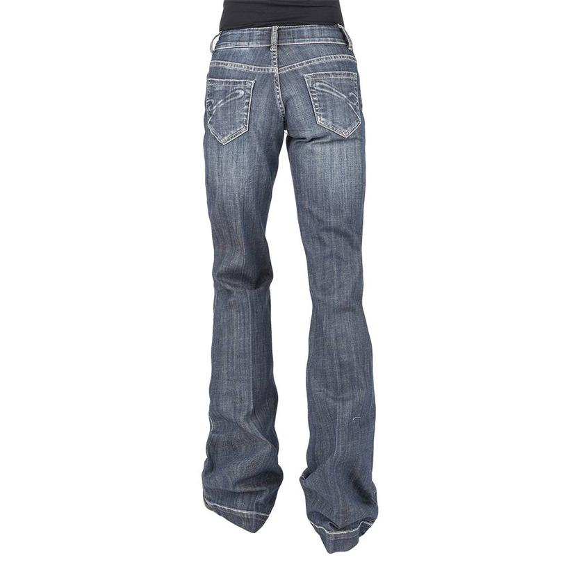 Stetson Sterling City Trouser With Corded 's ' Pocket Women's Jeans