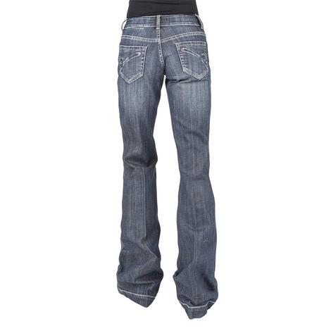 Stetson Sterling City Trouser with Corded 'S' Pocket Women's Jeans
