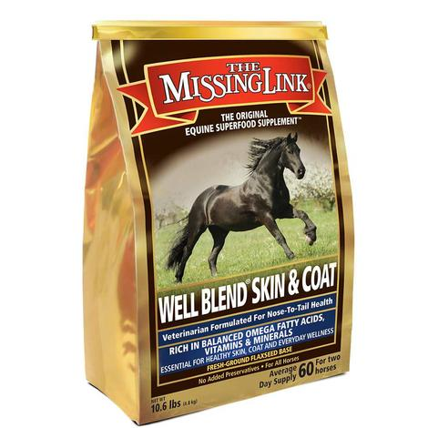 Absorbine Missing Link Well Blend Skin and Coat Supplement 10.6lb