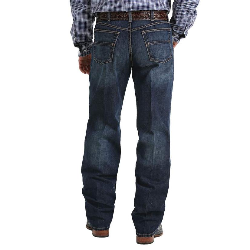 Cinch Black Label Loose Fit Dark Wash Men's Jeans