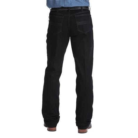 Cinch Silver Label Black Denim Performance Level Men's Jeans