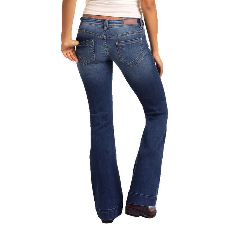 Rock & Roll Medium Wash Women's Trouser
