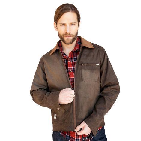 Kimes Ranch Wax Treated Khaki Canvas Men's Jacket