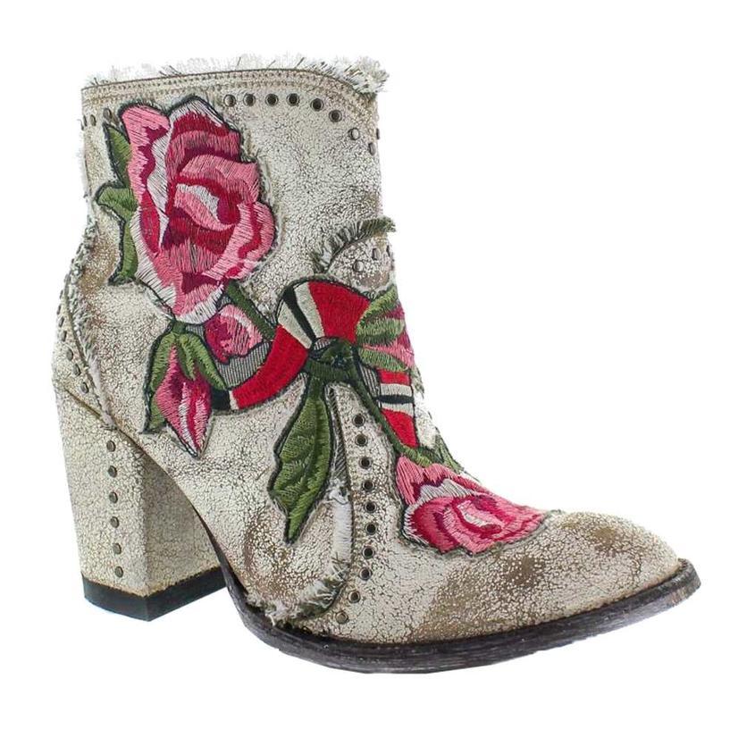 Old Gringo White Carla Women's Shortie Boots