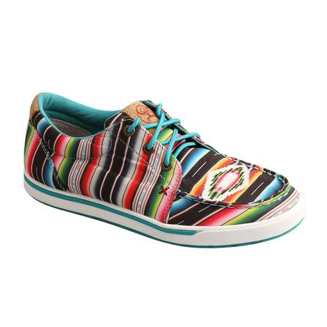Twisted X Black Serape Hooey Loper Women's Shoes