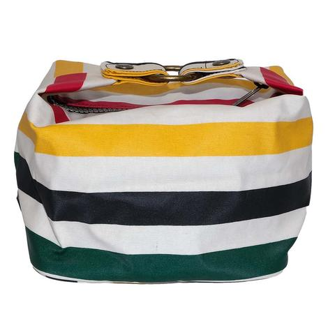STTWool Galcier Stripe Square Cosmetic Case
